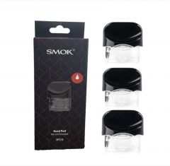 SMOK Nord Replacement Pod CARTRIDGES 3 Pack (Pods Only, No Coils Included)