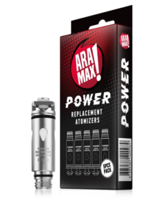 Aramax Power Replacement Atomiser (5pcs)