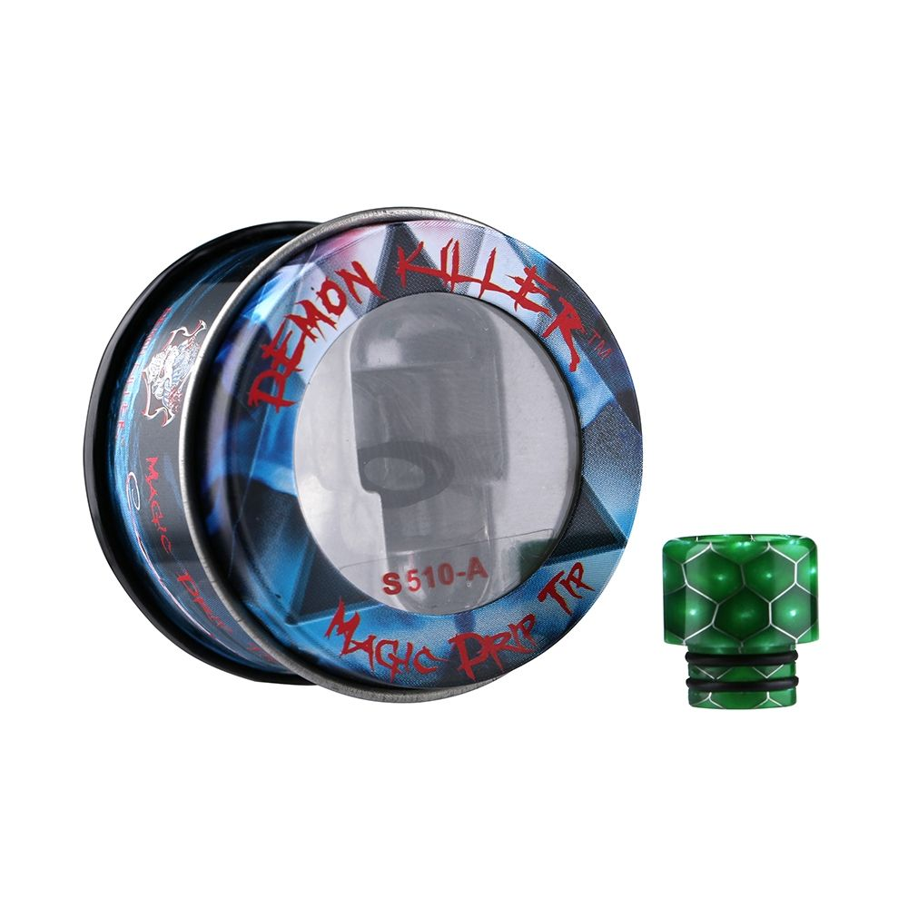 Demon Killer Cobra Resin 810 Drip Tip