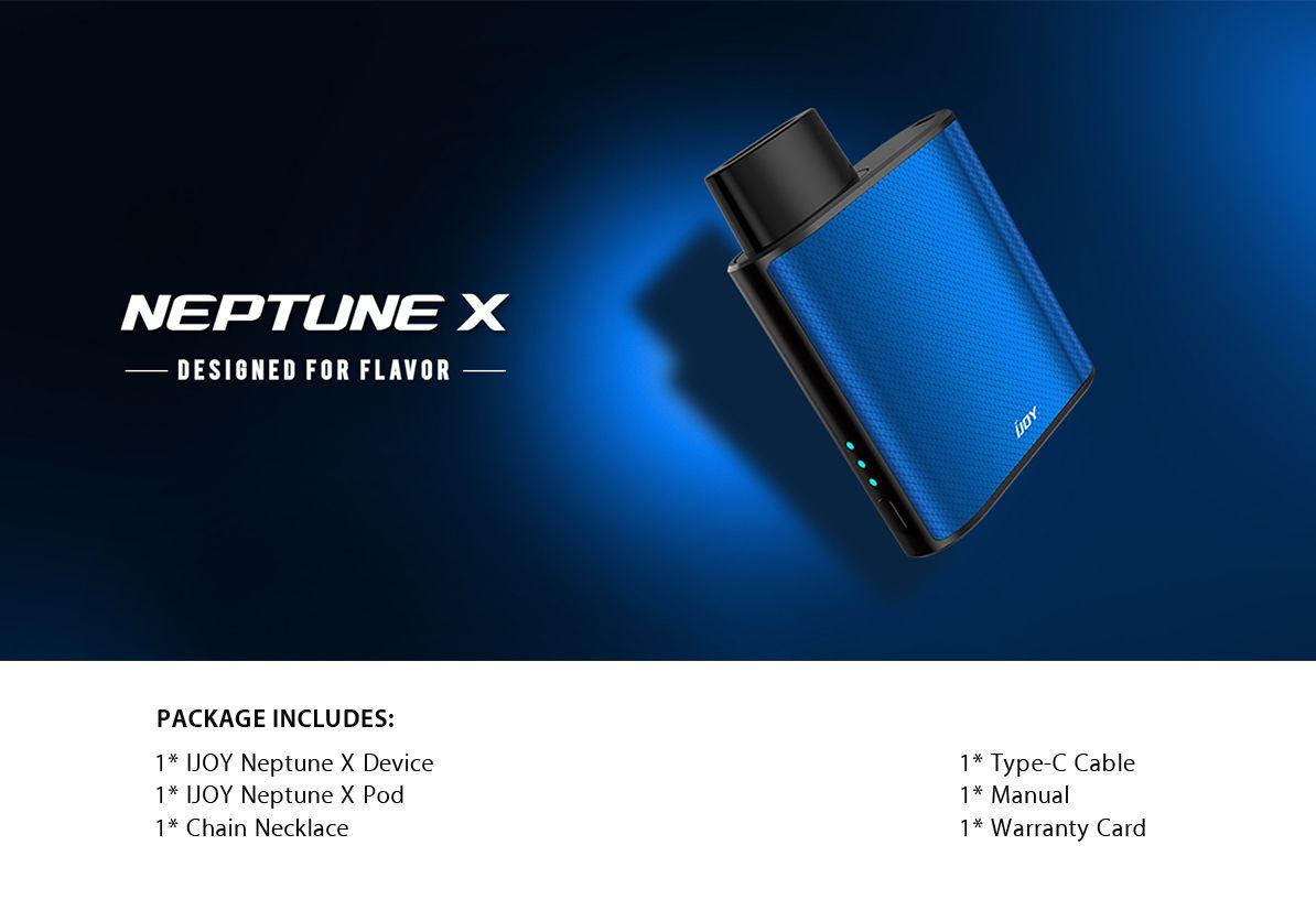 IJOY Neptune X Kit 650mah 1.8ml
