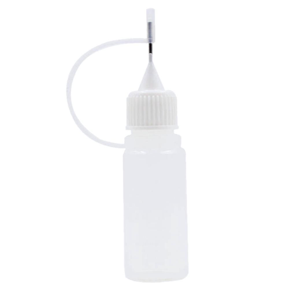 LDPE Metal Needle Tip Plastic Dropper Bottle