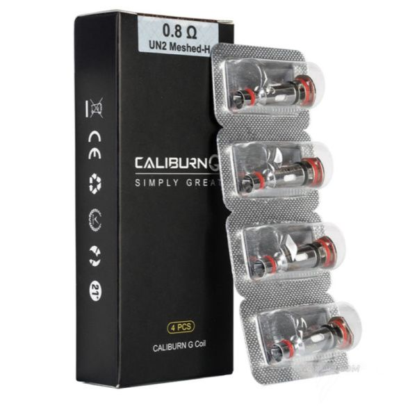 Caliburn G Replacements Coils 4pcs (Only for Caliburn G)