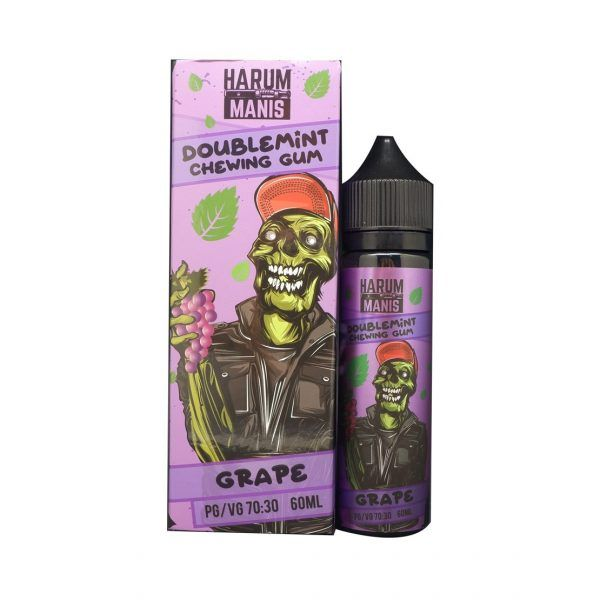 Harum Manis Doublemint Chewing Gum – Grape – 60Ml