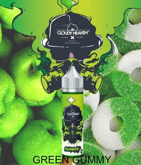 Cloudy Heaven- Green Gummy 60Ml