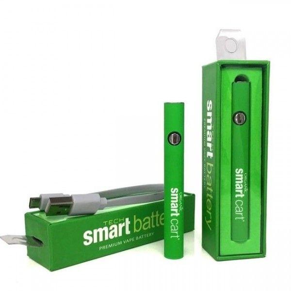 Smart Cart Premium Vape Battery for CBD Cartridge 510 Thread Connection