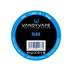 Vandyvape Resistance Wire Ni80 Wire Vape Wires