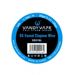 Vandyvape Resistance Wire Fused Clapton