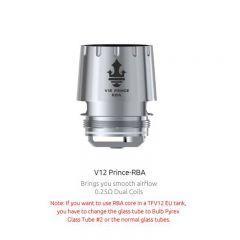 SMOK V12 Prince-RBA Core 0.25ohm for TFV12 Prince Tank (1pc/pack)