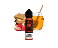 Cookie Twist Strawberry Honey Graham - 60ml