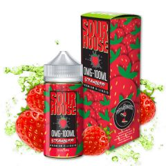 Sour House - Strawberry Eliquid 100ml