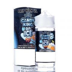 Candy King On Ice Peachy Rings 100ml Ejuice