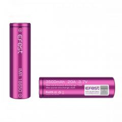 Efest IMR 18650 3500mAh 20A flat top battery (single)