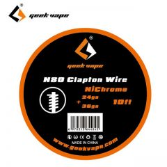 GeekVape N80 Clapton Wire 10ft 24ga + 36ga ZN06