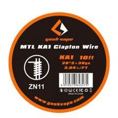 Geekvape MTL KA1 Clapton Wire KA1 28gaX2 + 38ga ZN11