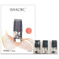 Smok Infinix 2 Replacement Pod Cartridge 3pk