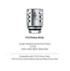 SMOK Prince V12 Strip Coils/Mesh Coils for TFV12 Prince Tank | 0.15 ohms