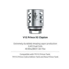 SMOK V12 Prince X2 Clapton 0.4 Ohm Coils