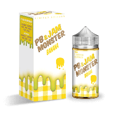 Jam Monster - PB + Banana Jam 100ml Ejuice