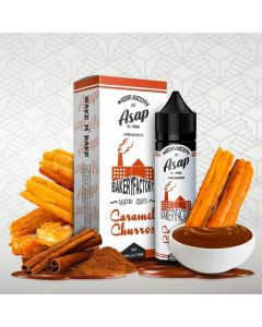 ASAP – CARAMEL CHURROS – 60ML