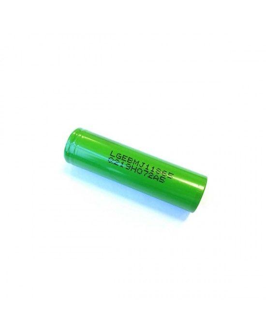 LG MJ1 18650 Battery 3500mAh 10A Flat top