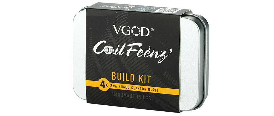 VGOD CoilFeenz Build Kit With 4 Fused Clapton Coils