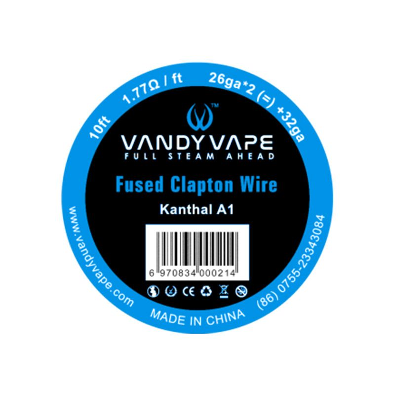 Vandyvape Resistance Wire Fuse Clapton Kanthal Wire Vape Wires