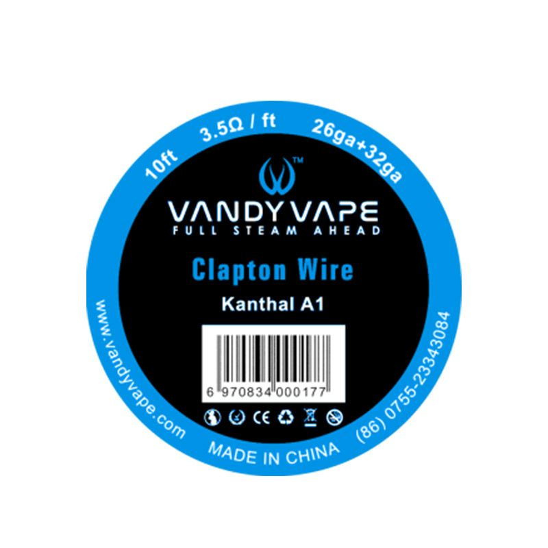 Vandyvape Resistance Wire Clapton Kanthal A1 Vape Wires