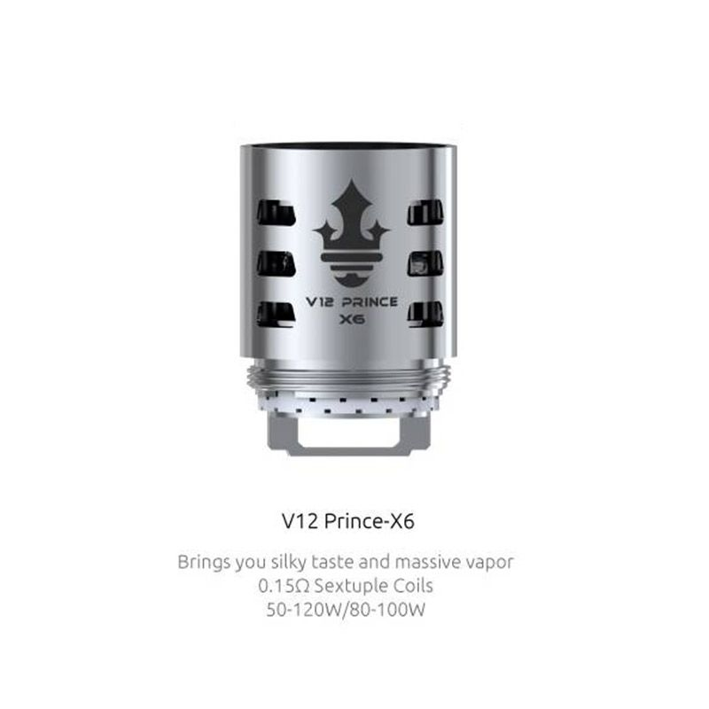 SMOK V12 Prince-X6 Core 0.15ohm for TFV12 Prince Tank (3pcs/pack)