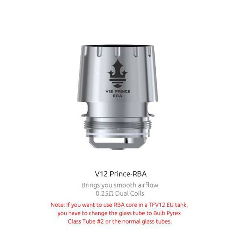 SMOK V12 Prince-RBA Core 0.25ohm for TFV12 Prince Tank (1pc/pack)
