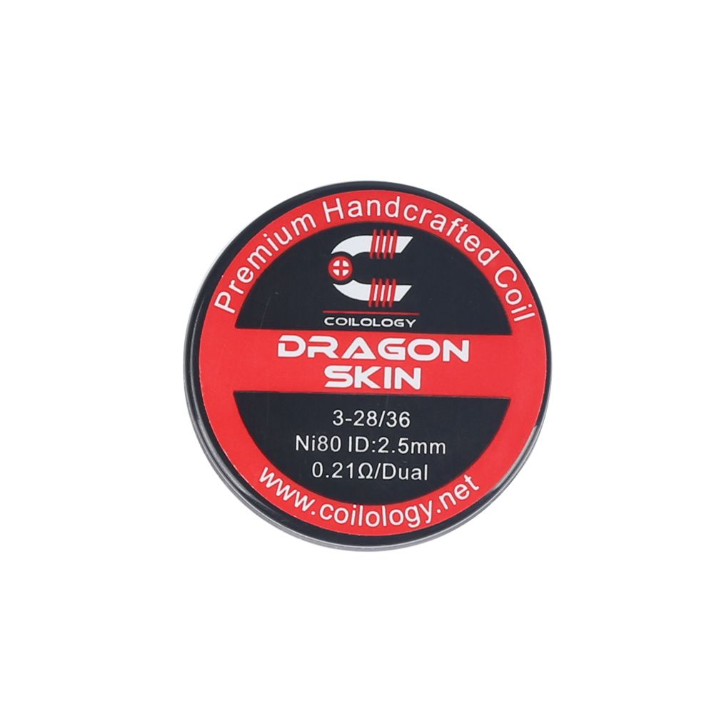 Coilology Dragon Skin Handcrafted DIY Prebuild Coil (2pcs/pack)