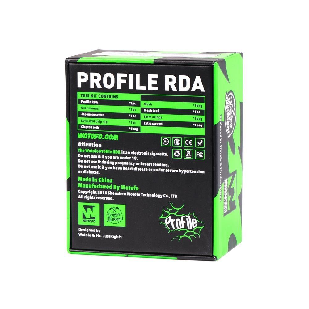 Wotofo Profile RDA Atomizer