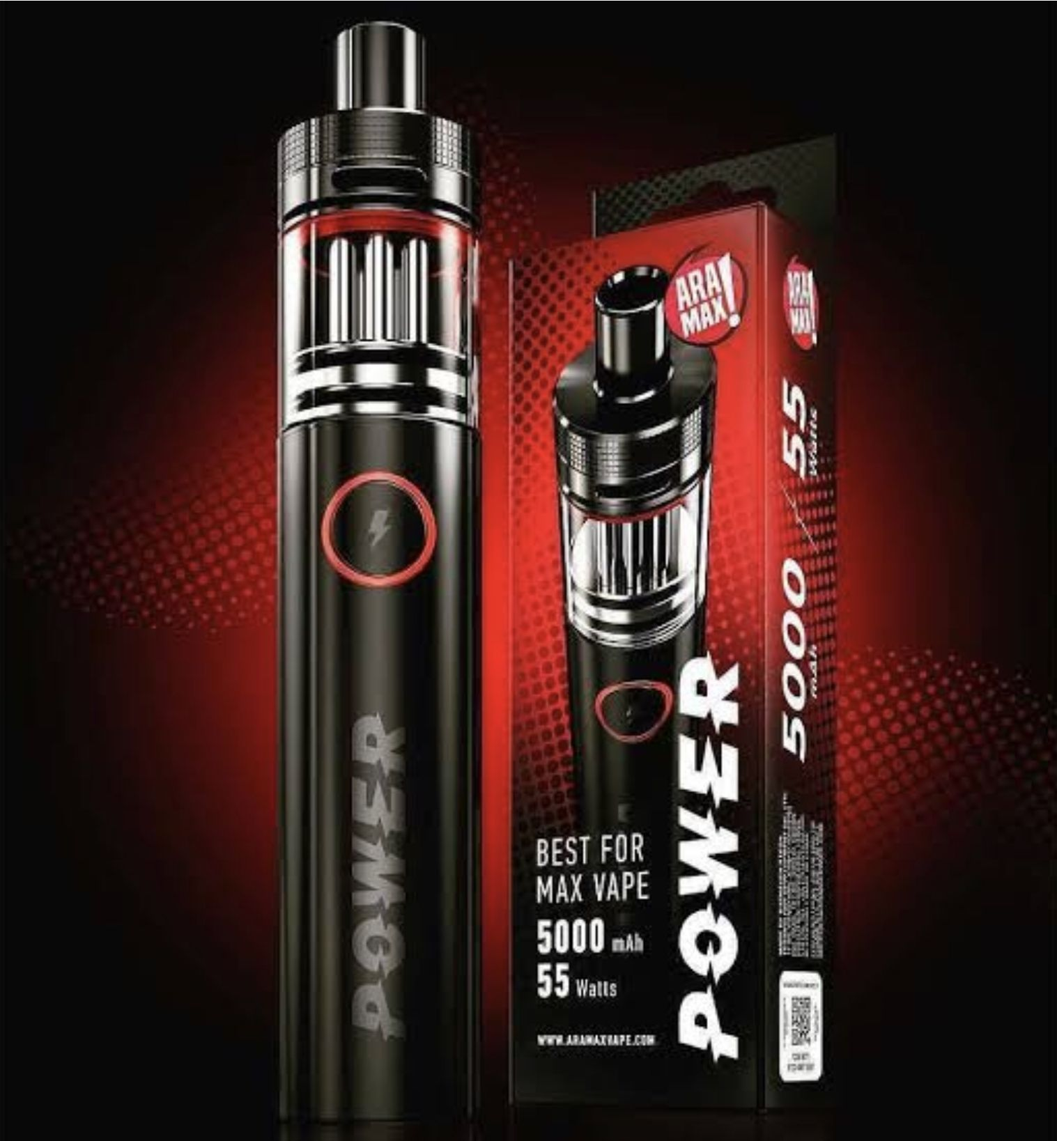 Aramax POWER Vape Pen Kit 5000 mAh 55W