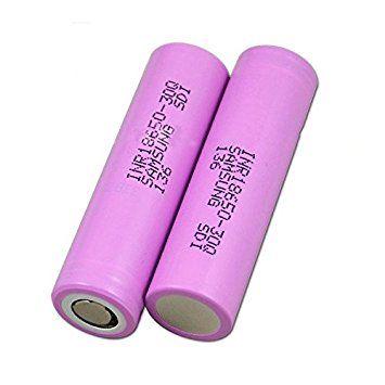 SAMSUNG Samsung INR18650 30Q Battery 15A 3000mah