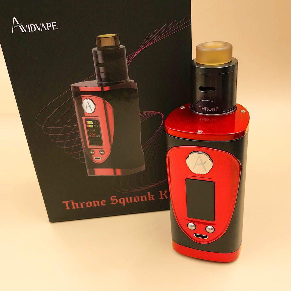 Avidvape Throne Squonker 200W TC Kit