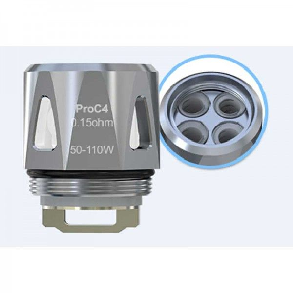 Joyetech ProC4 DL Head 0.15ohm for ProCore Aries (5pcs/pack)