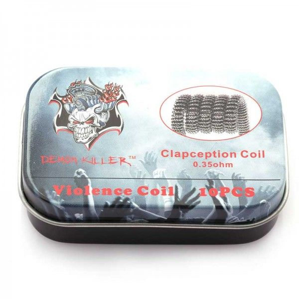 Demon Killer Prebuilt Wire Clapcetion Coil 0.35ohm 10pcs