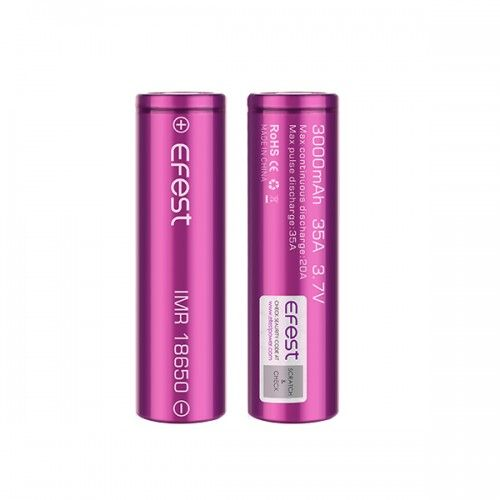 Efest IMR 18650 3500mAh 20A flat top battery