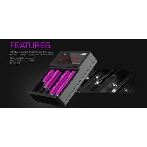 Efest Luc V6 Lithium 3.7V Smart battery LCD Charger