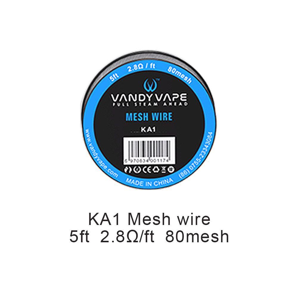 Vandy Vape Kanthal Mesh Wire DIY Vape Wires (80mesh)
