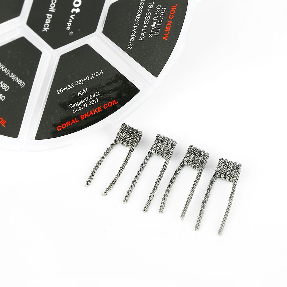 PilotVape 6 In 1 Coil Pack 24pcs