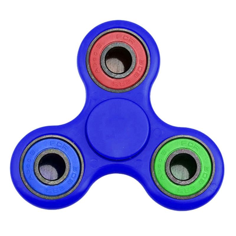Plastic EDC Triangle Hand Fidget Spinner