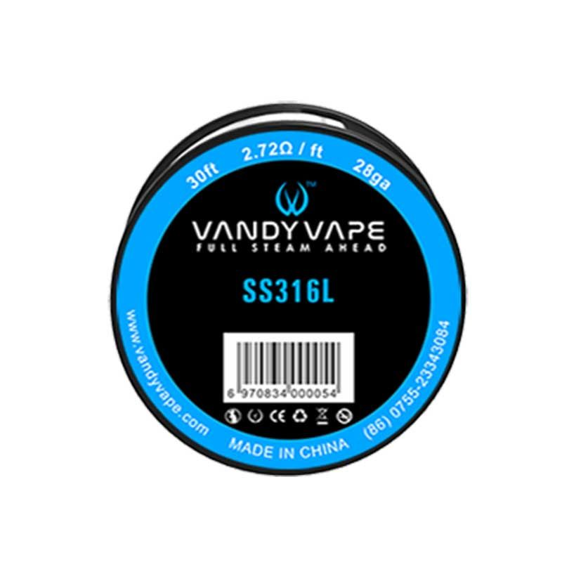 Vandyvape Resistance Wire Stainless Steel 316L Vape Wires