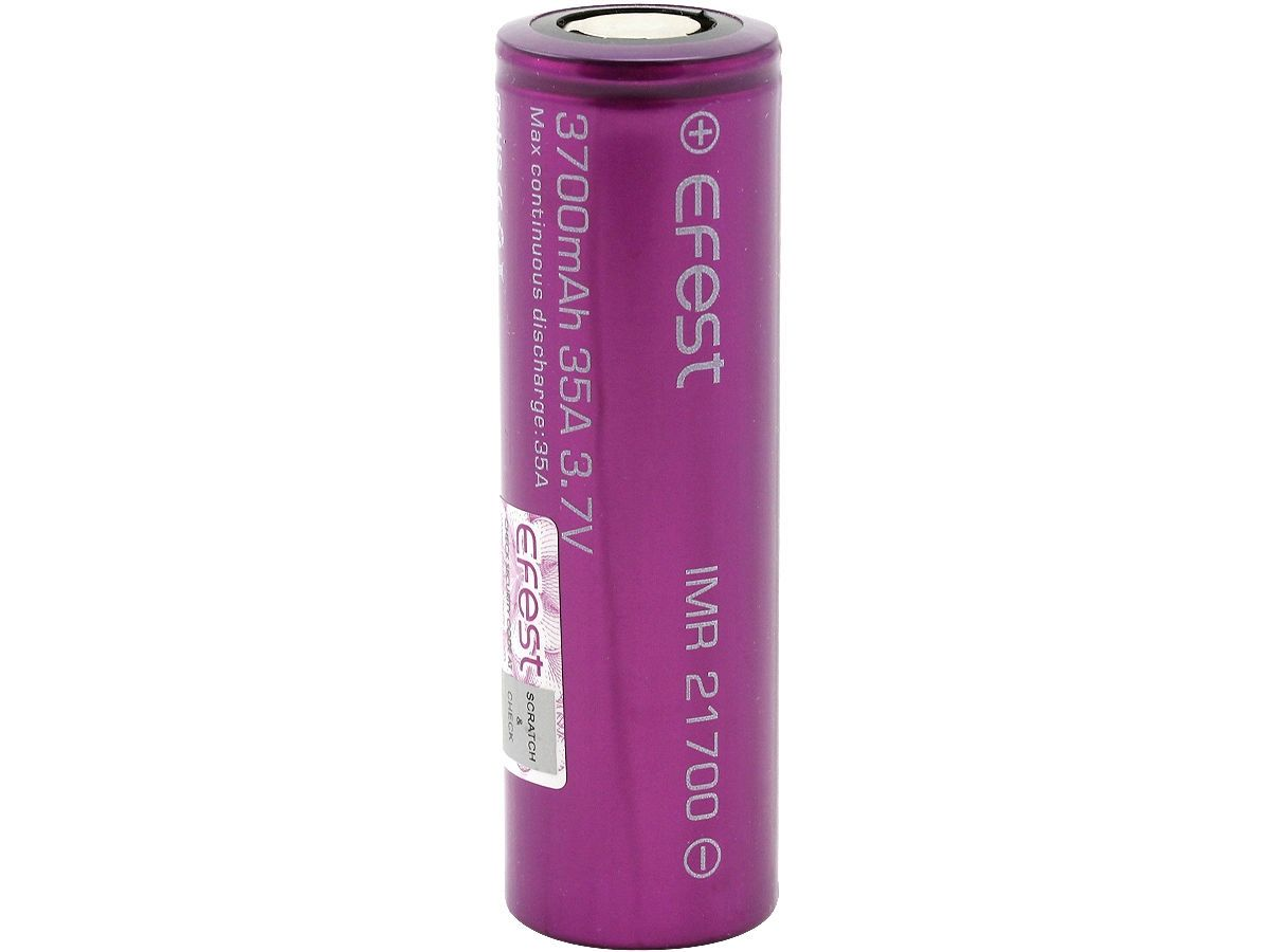 EFEST 21700 3700 MAH PURPLE