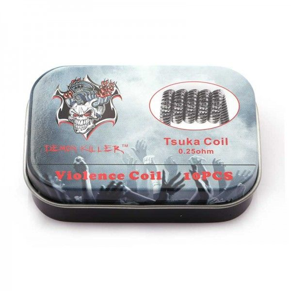 Demon Killer Prebuilt Wire Tsuka Coil 0.25ohm 10pcs