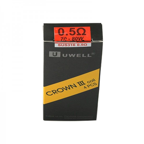 Uwell Crown III Replacement Coil for Uwell Crown 3 (4pcs/pack)