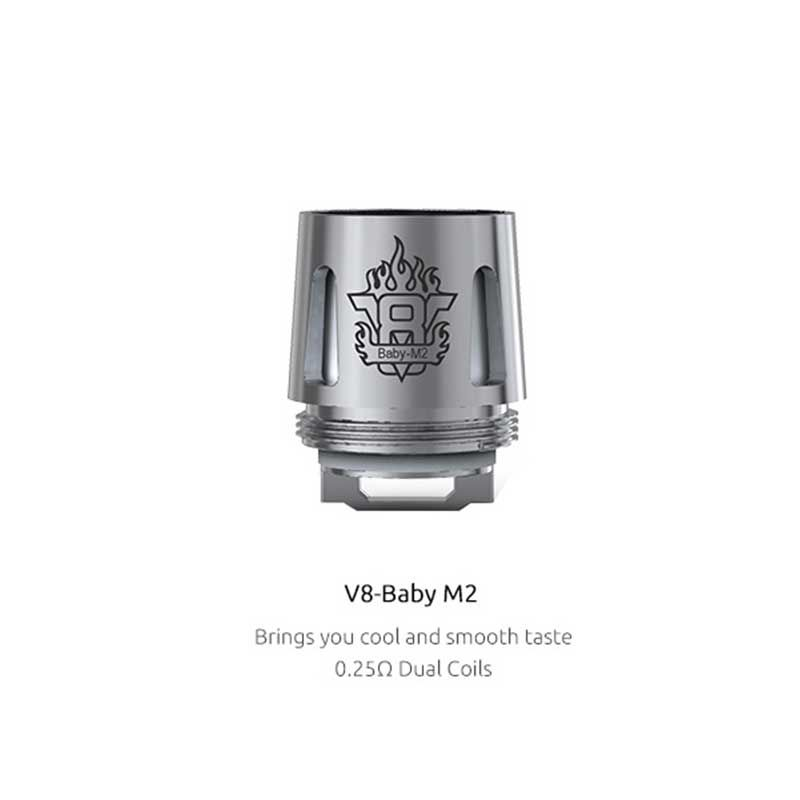 SMOK V8-Baby M2 Replacement Coil for TFV8 Baby/TFV8 Big Baby (5pcs/pack)