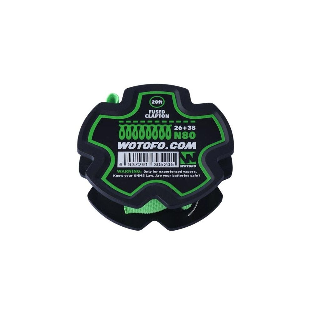 Wotofo Fused Clapton Wire 20ft/spool - 26Gauge+38 N80